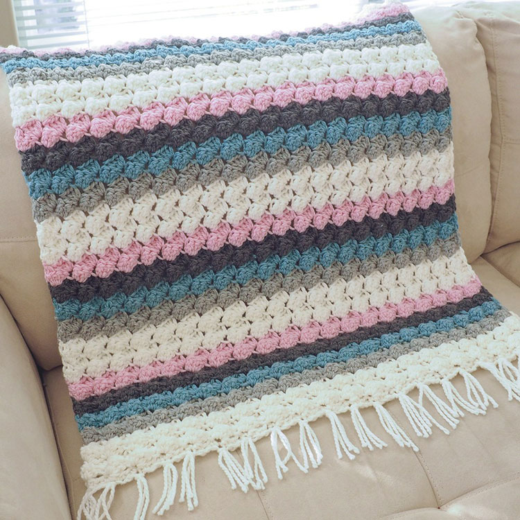 crochet blanket double crochet
