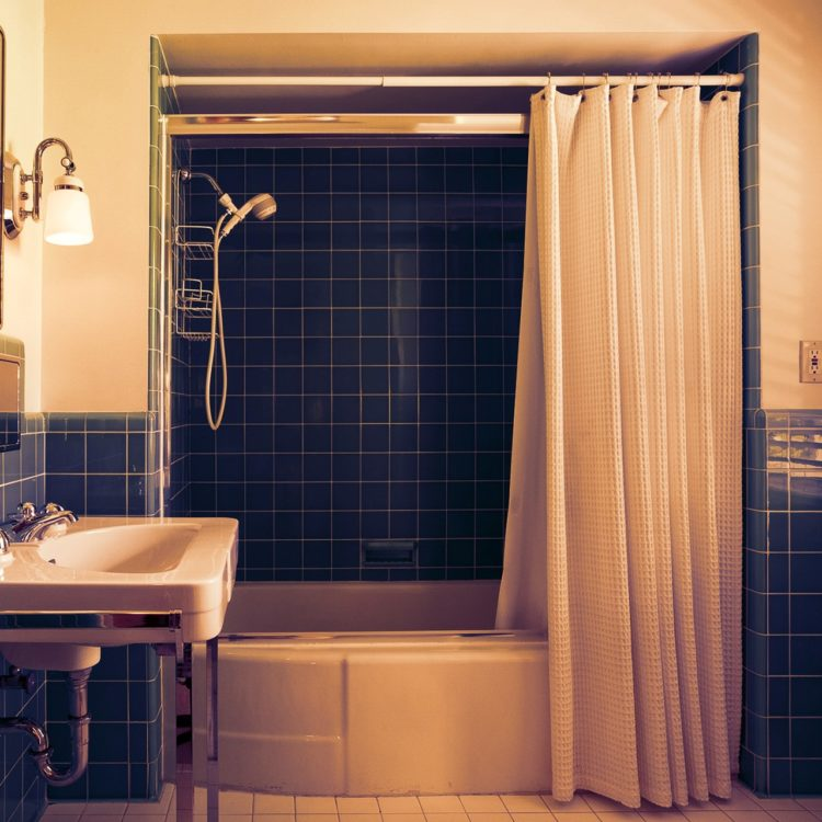 d ring shower curtain rod