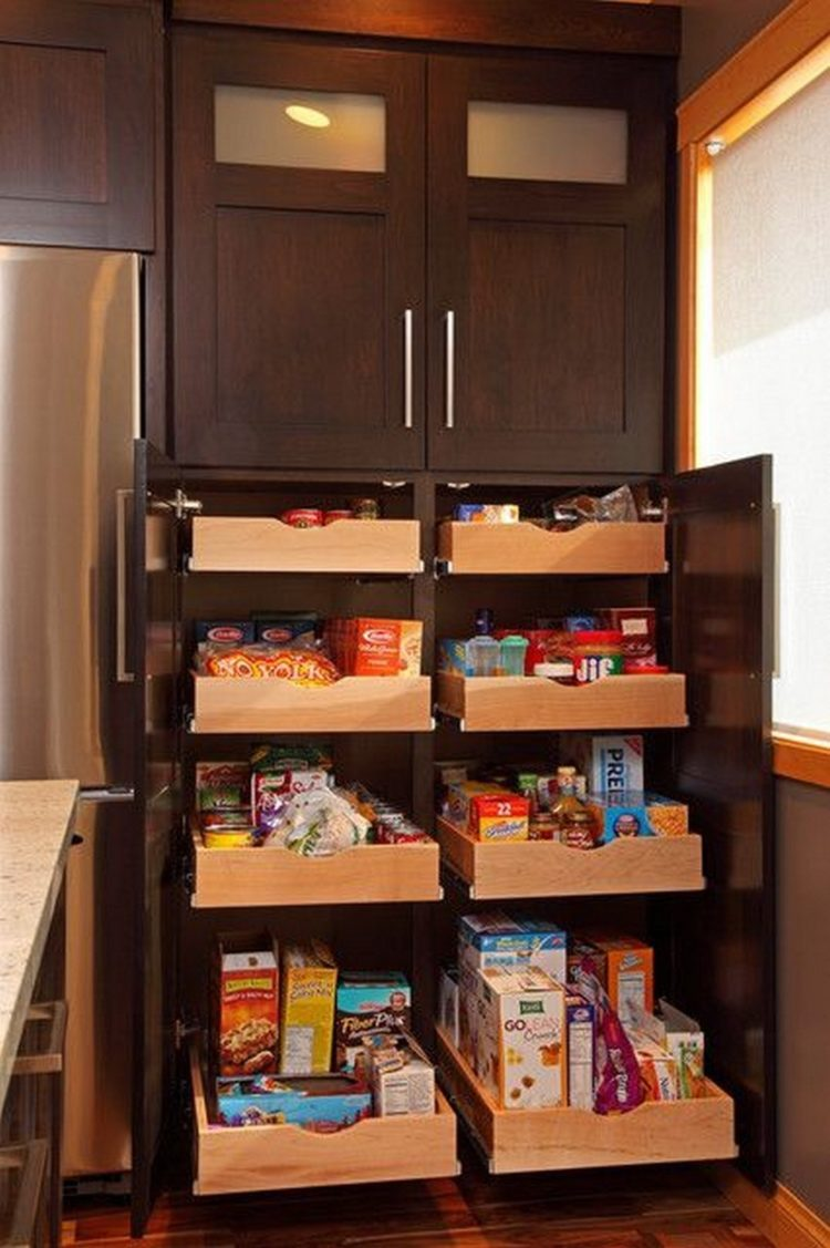 pantry and cabinets