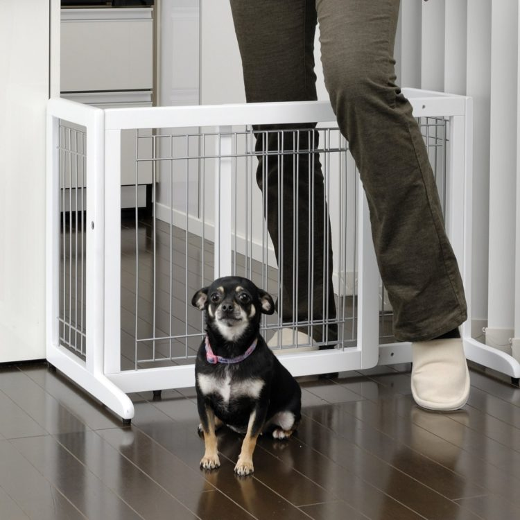 dog gate kennel
