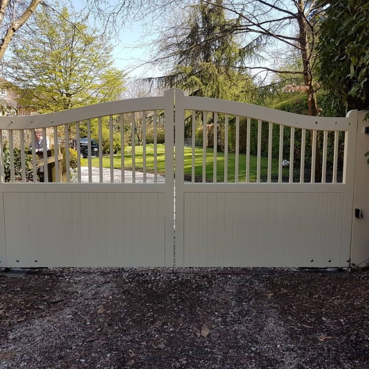 driveway gates for snow
