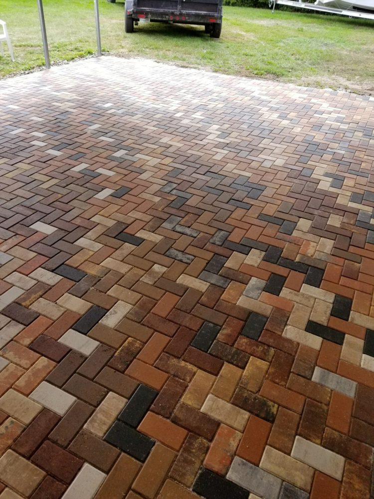 driveway pavers installation cost