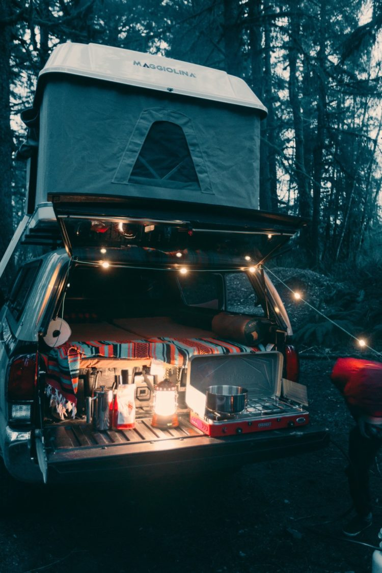 pickup truck bed tents