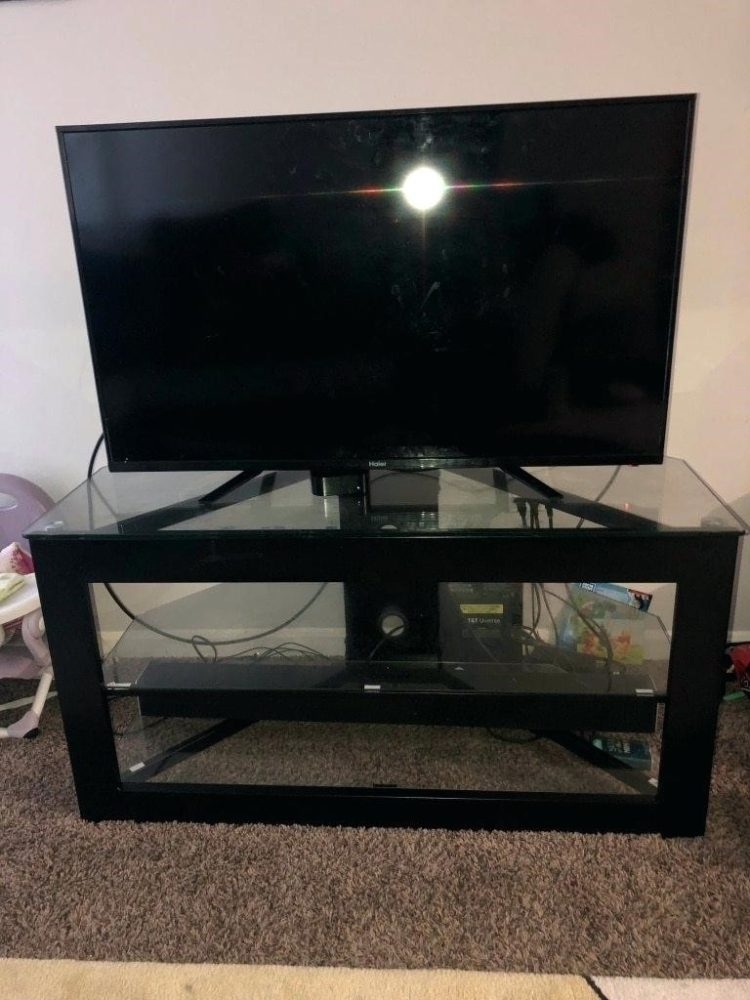 tv stand with mount in store