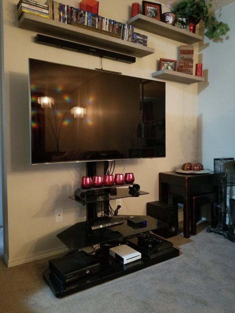 tv stand with mount india