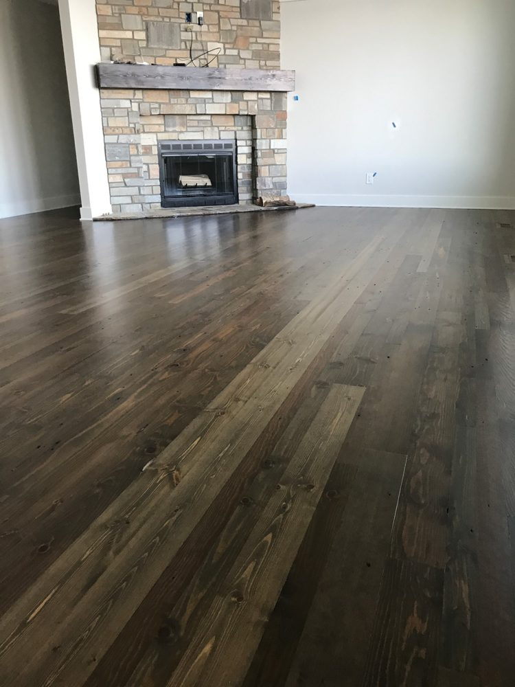 wood stain color white