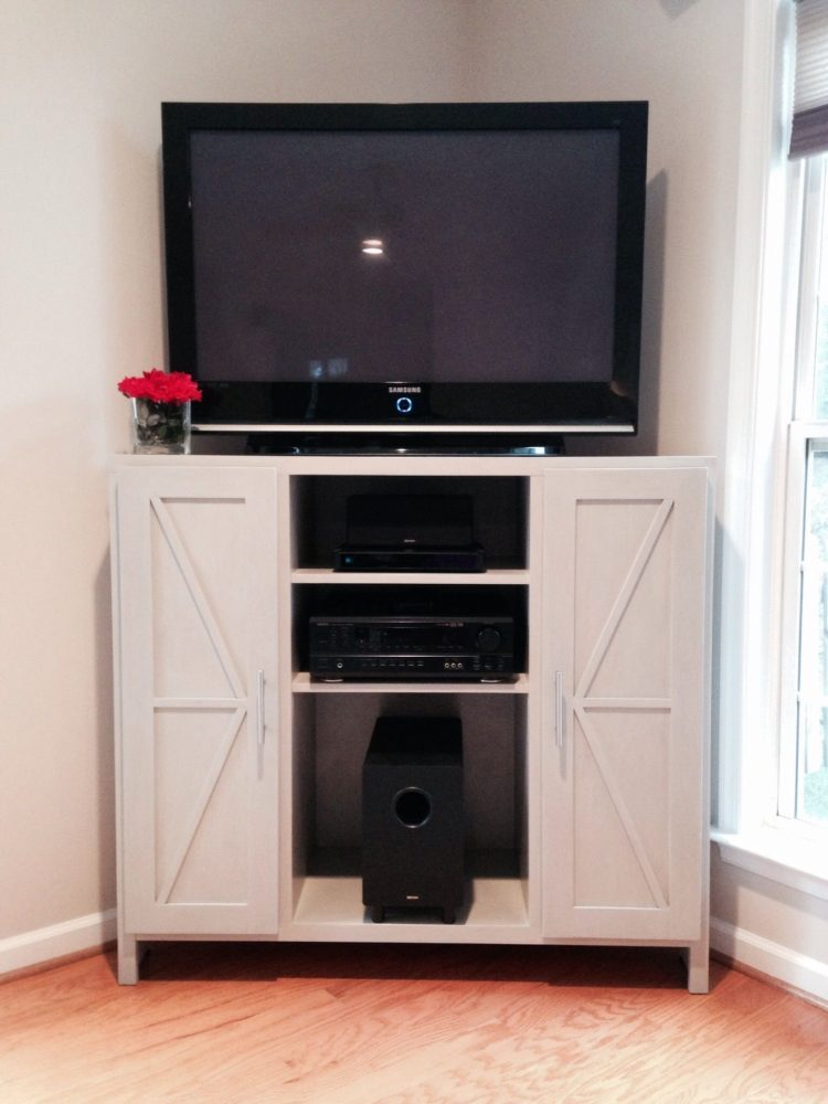 tv stand with mount ireland