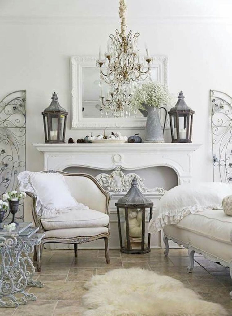 shabby chic euro shams