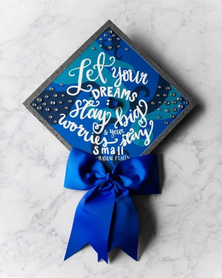 graduation cap headband