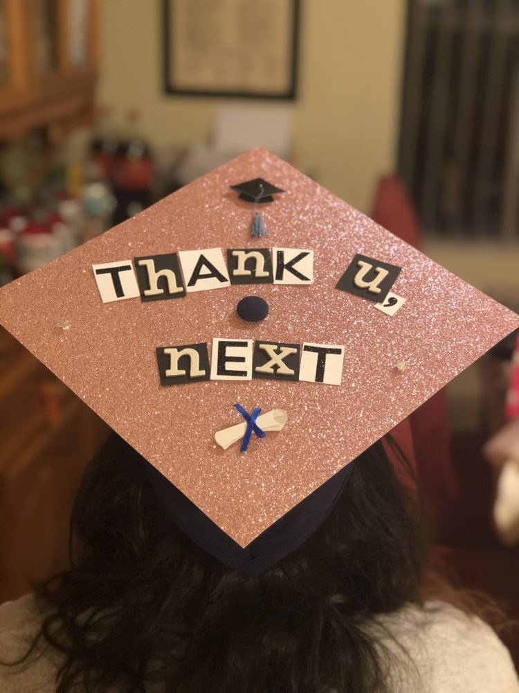 graduation cap game of thrones