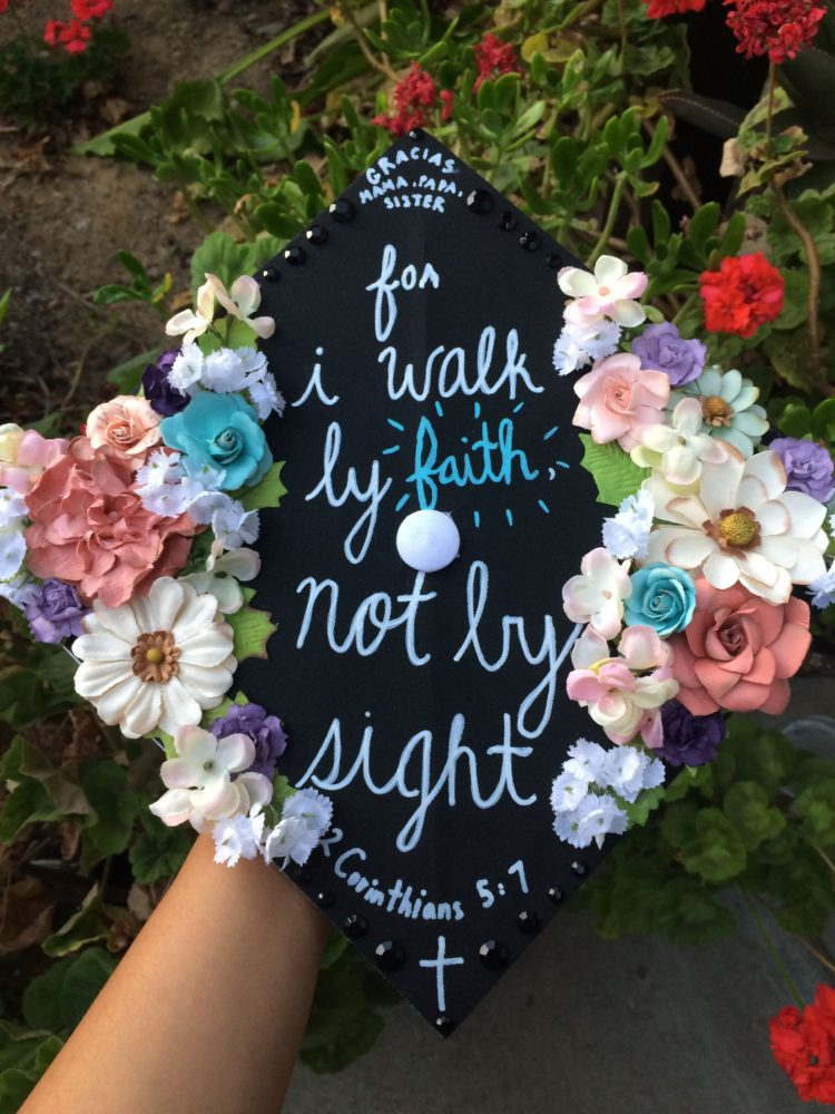 graduation cap embroidery design