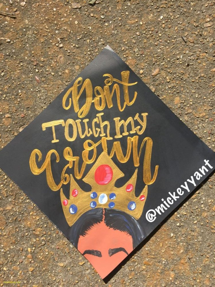 graduation cap embroidery