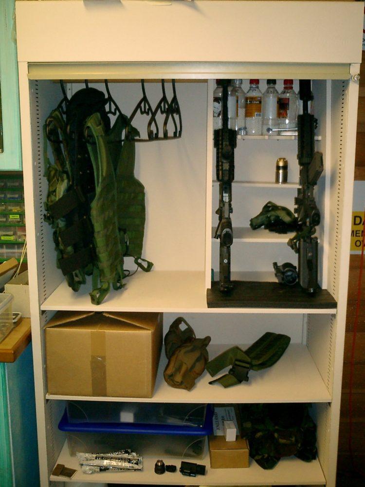 gun cabinet lock set