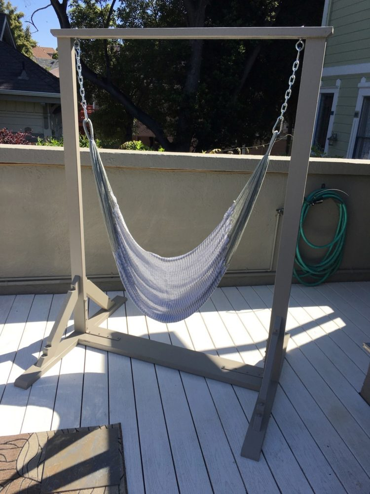 double hammock with stand lowes