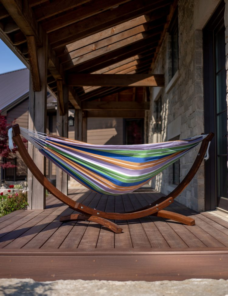 double hammock with stand uk