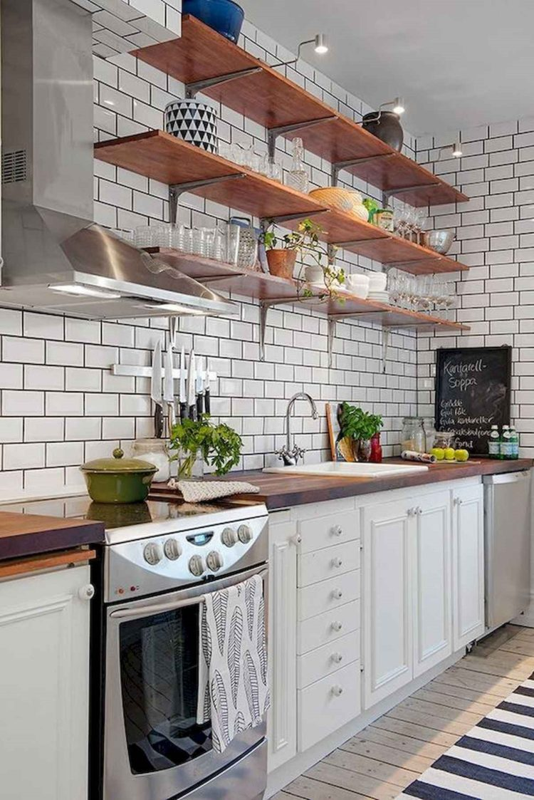 subway tile for backsplash