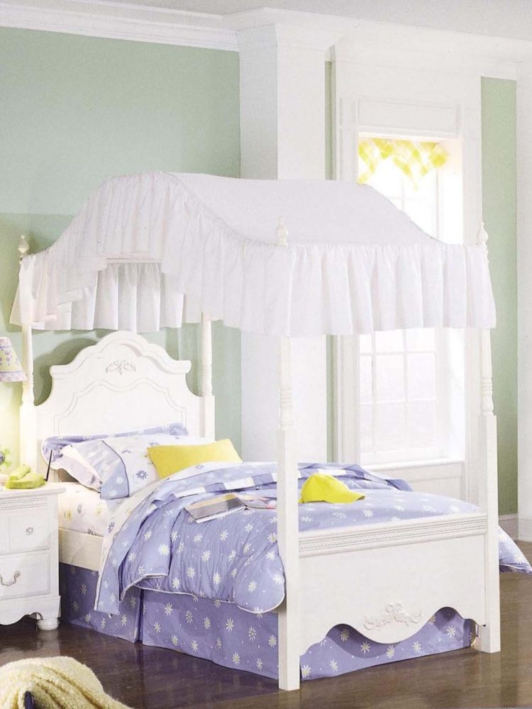 make a bed tent canopy