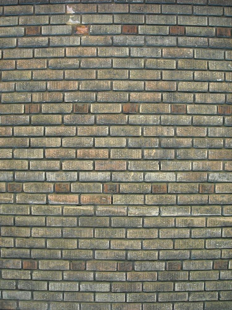 brick background for party