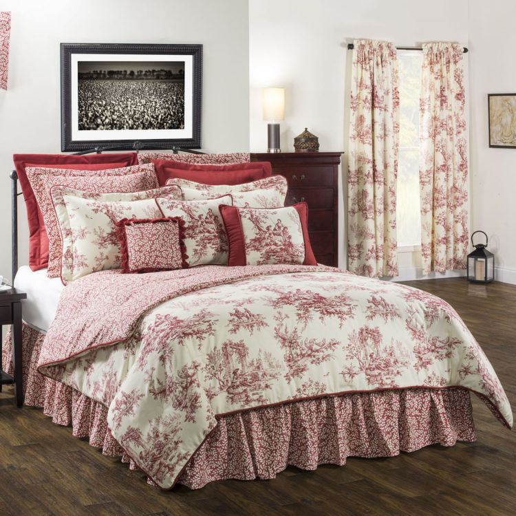 j queen new york bed skirt