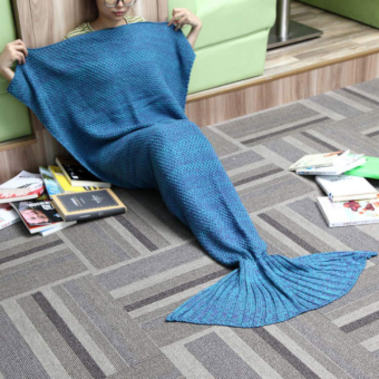 mermaid tail blanket tesco