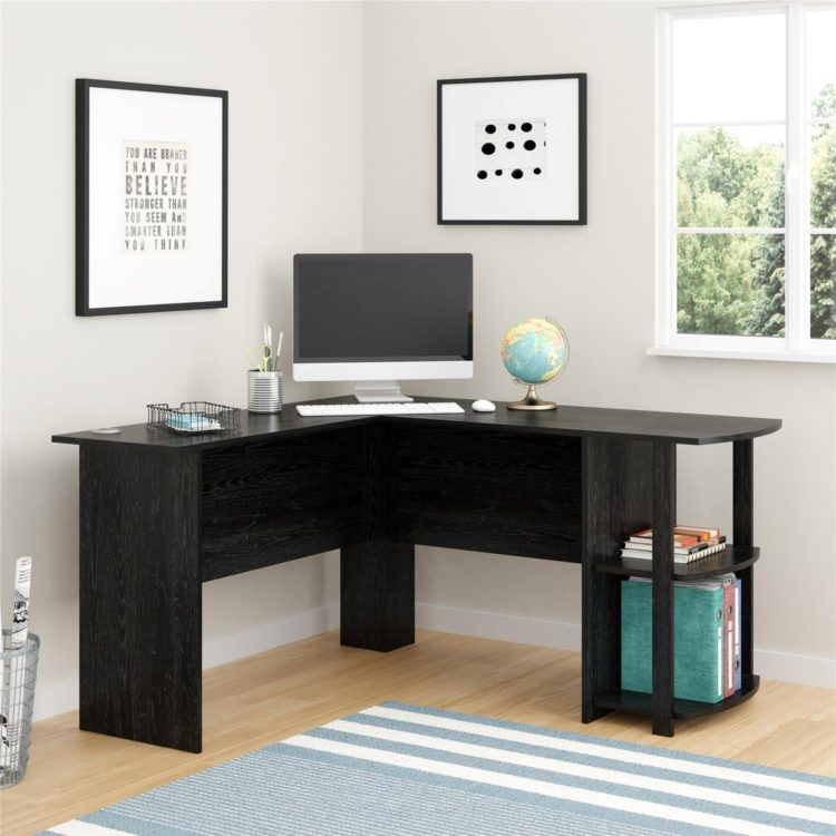 l shaped desk jysk