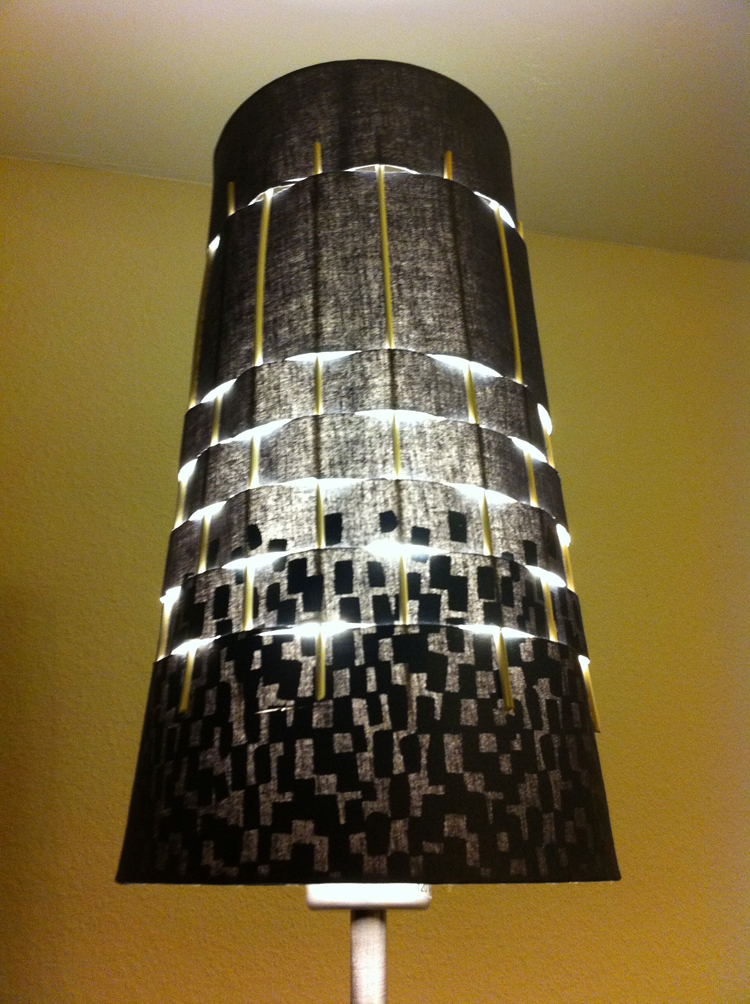lamp shade embellishment magnetic