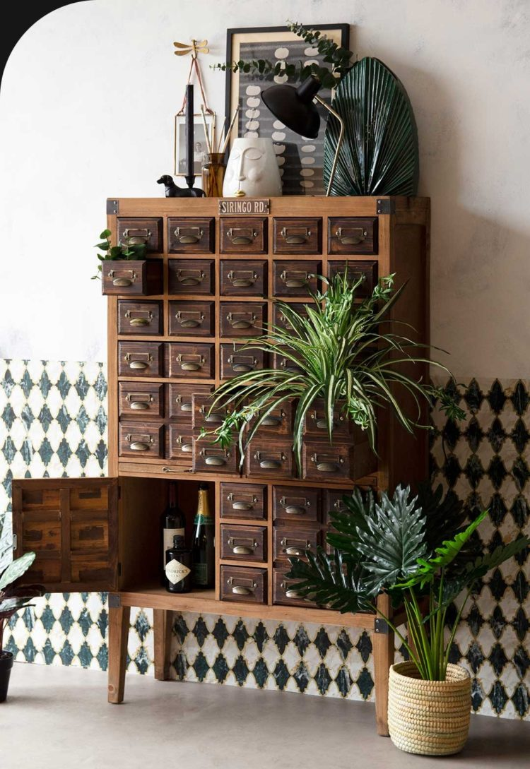 apothecary hoosier cabinet