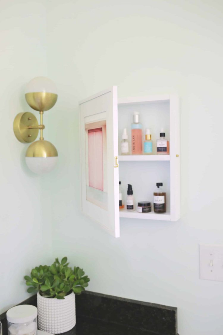 medicine cabinet for small bathroom
