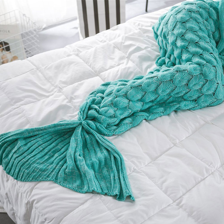 mermaid tail blanket snuggie