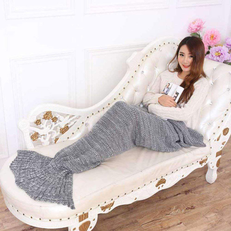 mermaid tail blanket sheet street