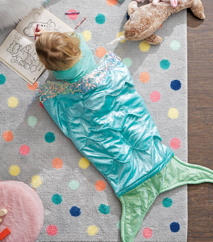 mermaid tail blanket pattern sewing