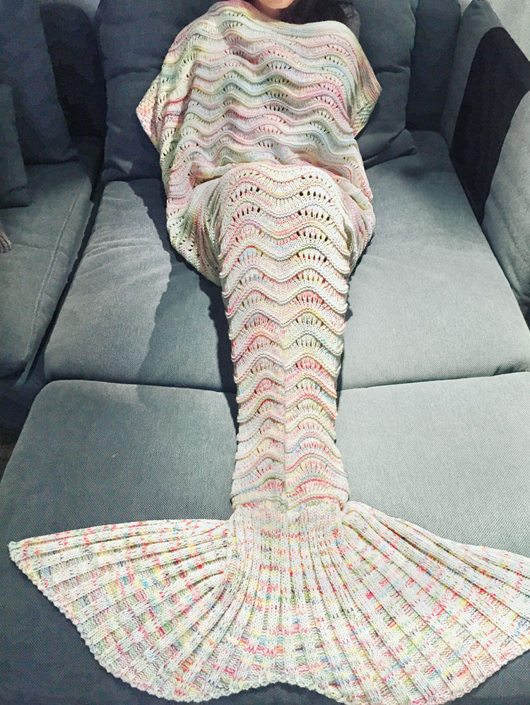 mermaid tail blanket matalan