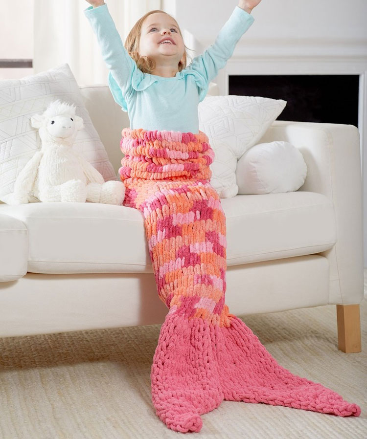 mermaid tail blanket lidl