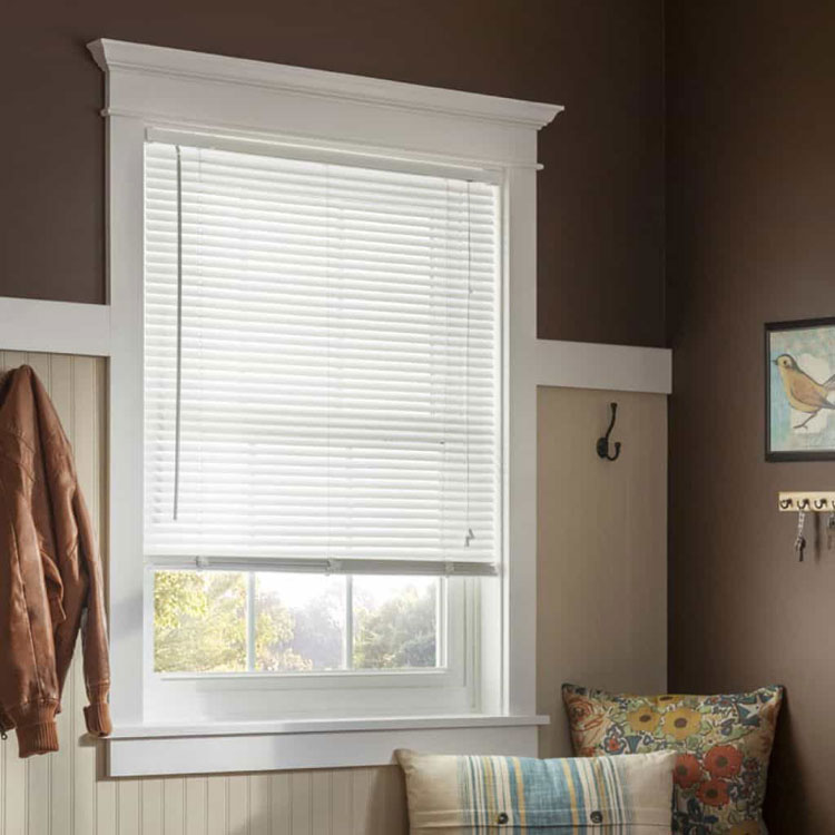 mini blinds how to install