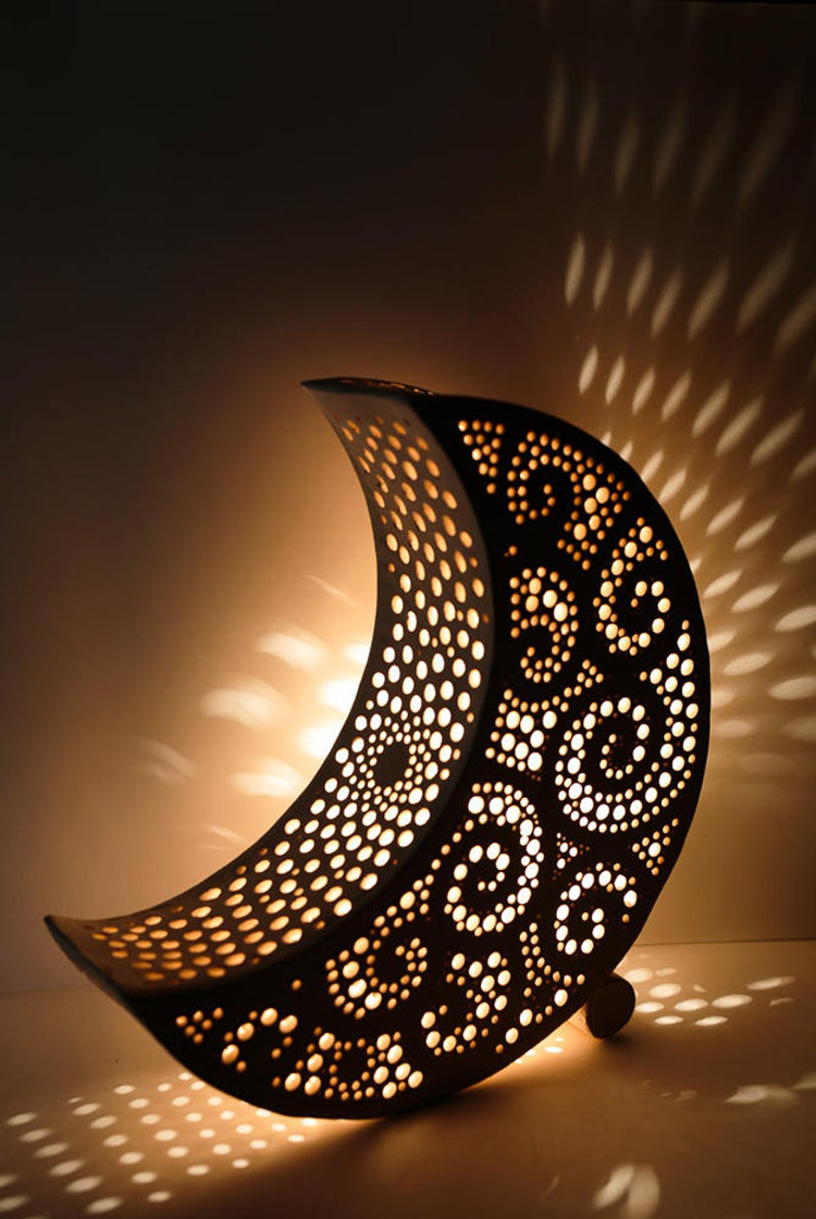 moon lamp in nepal