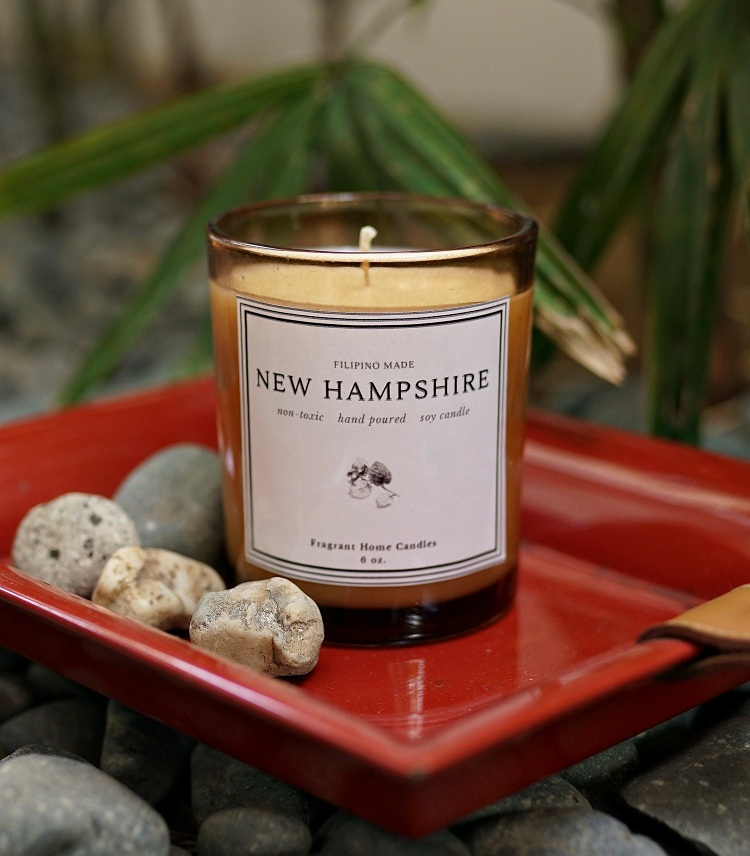m and s soy candle