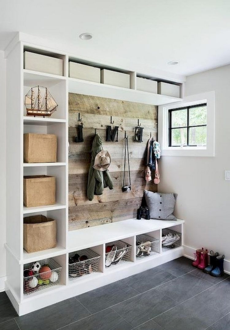 l shaped mudroom ideas