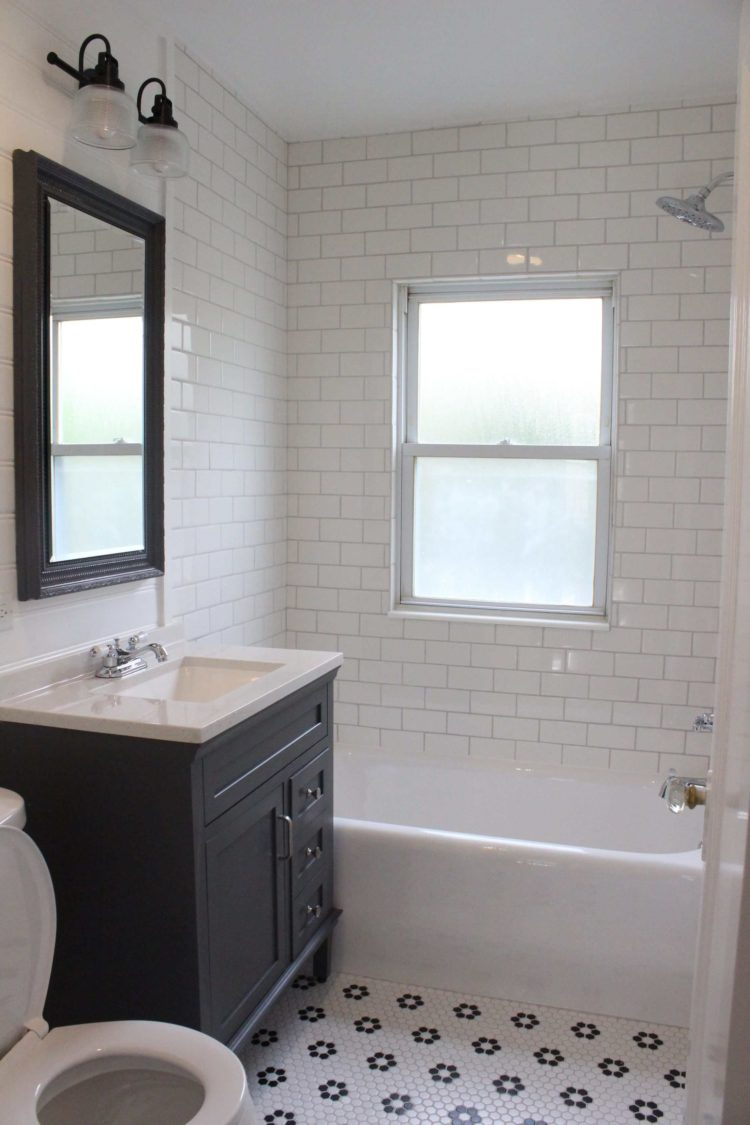 subway tile for shower