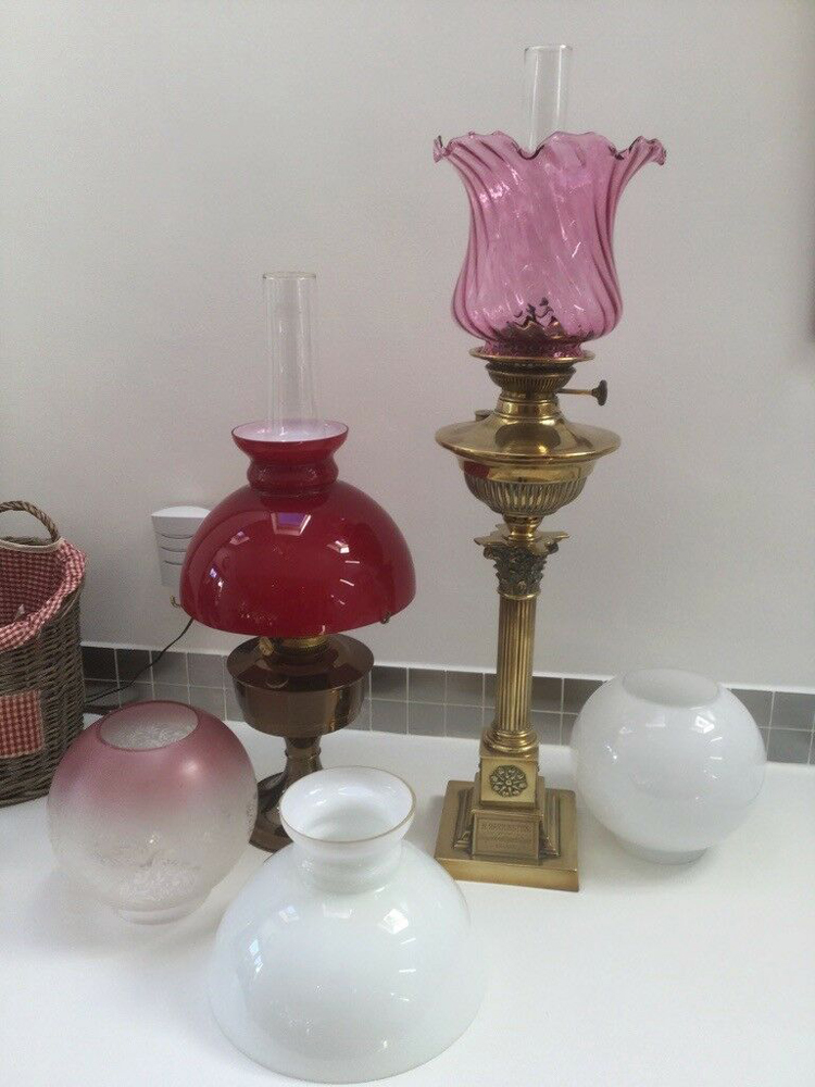 oil lamp glass cover