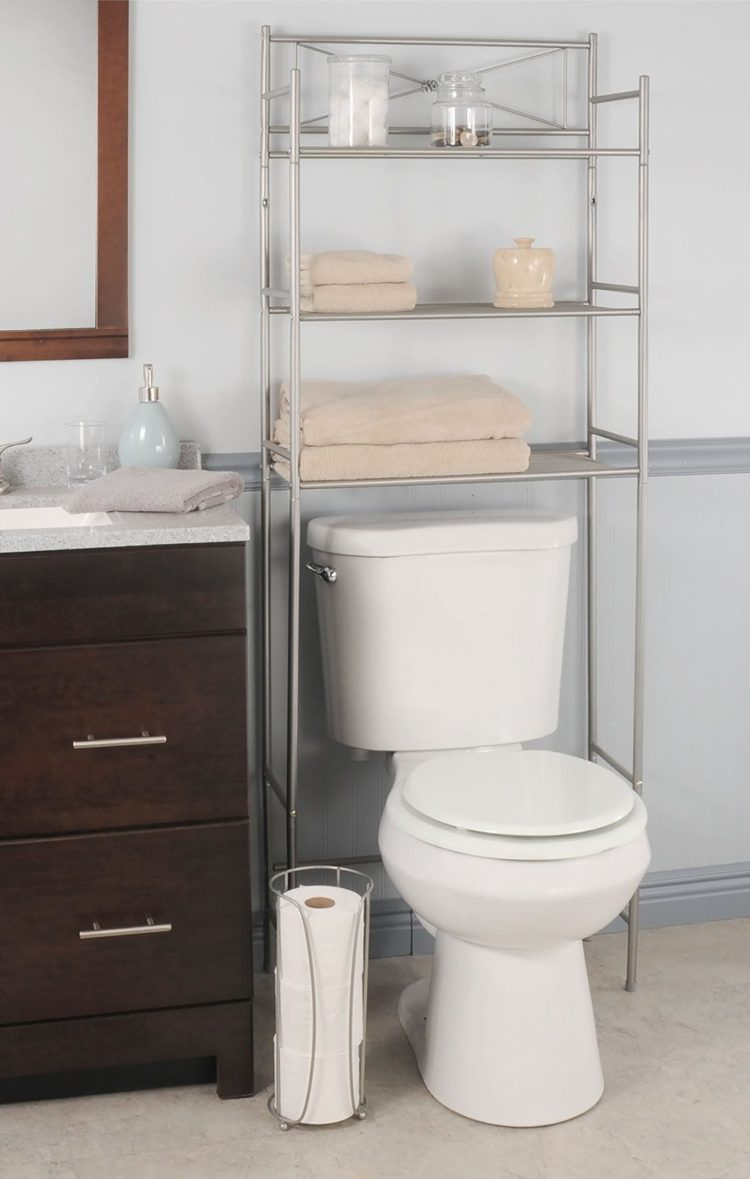 over the toilet storage lowes