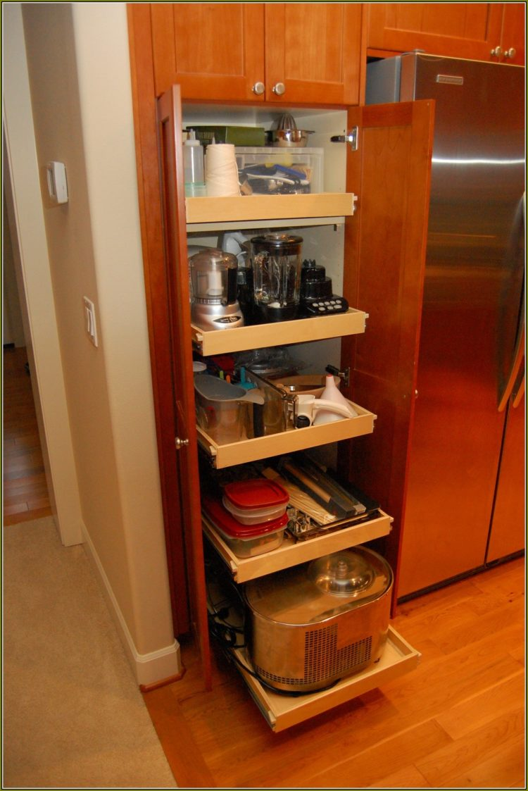 pantry cabinet microwave