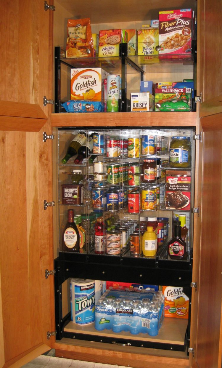 pantry cabinet lighting