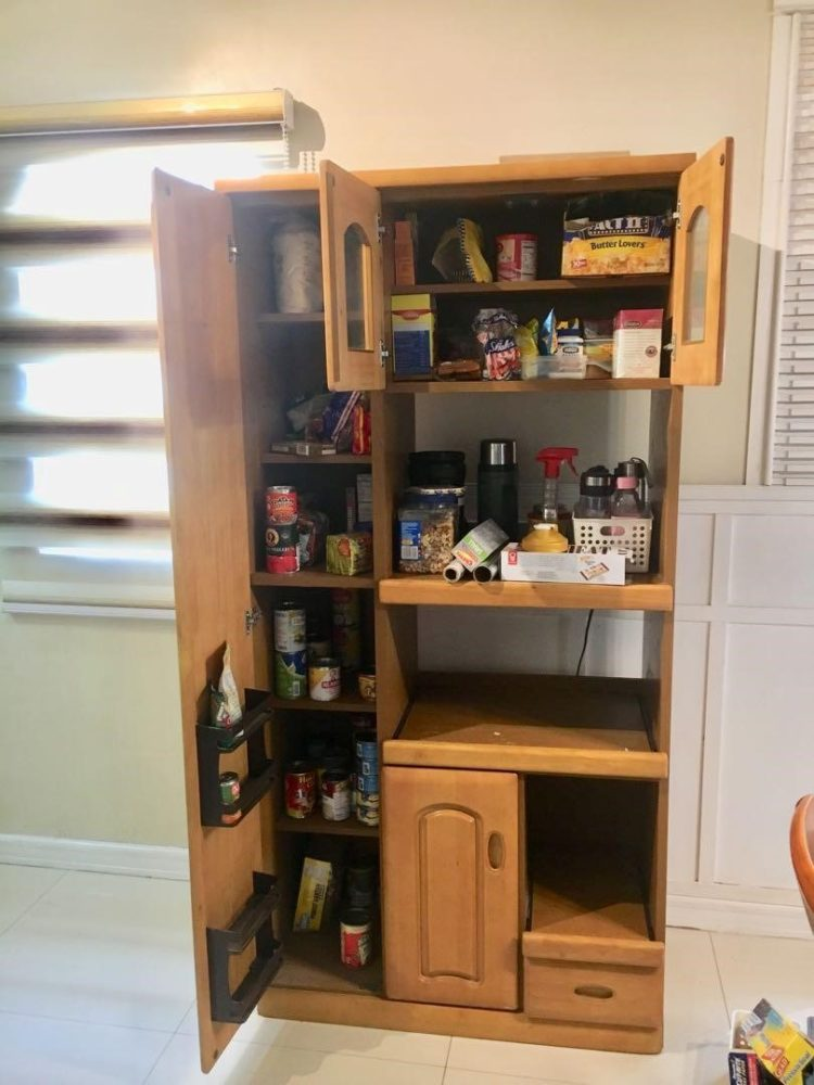 pantry cabinet for small spaces