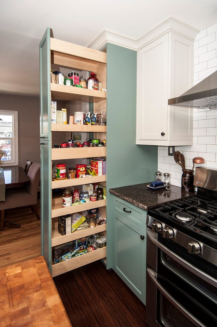 pantry cabinet food
