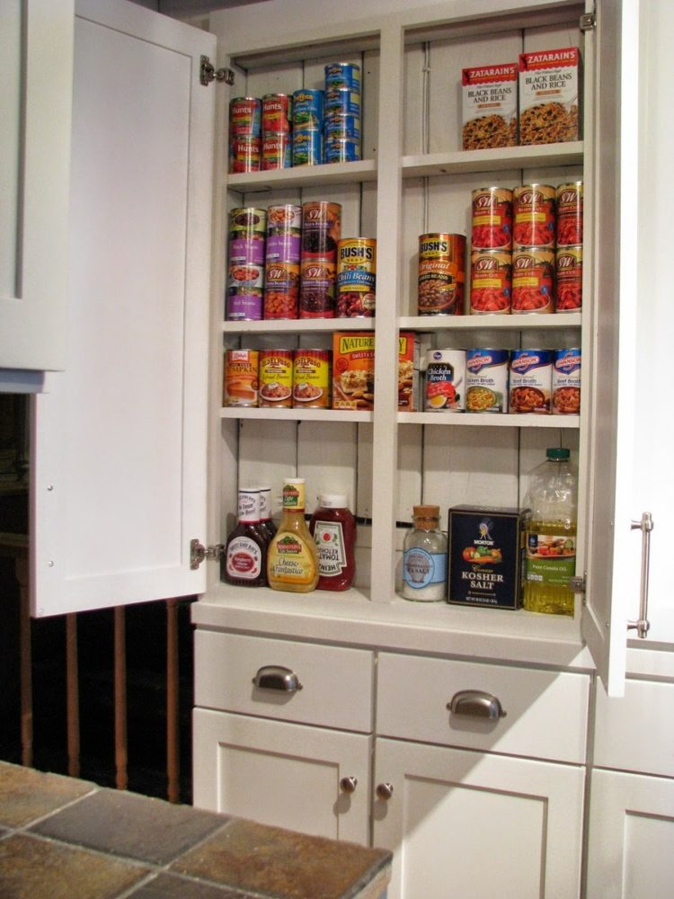 pantry cabinet no doors