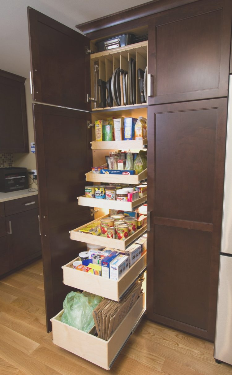 pantry cabinet or closet