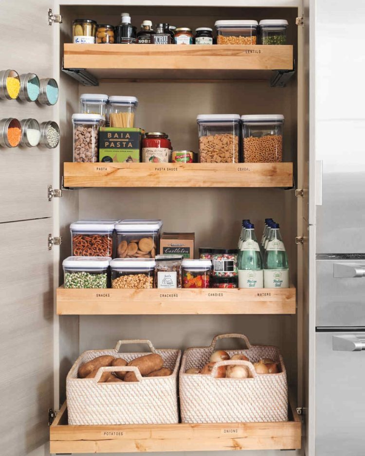 pantry cabinet for microwave