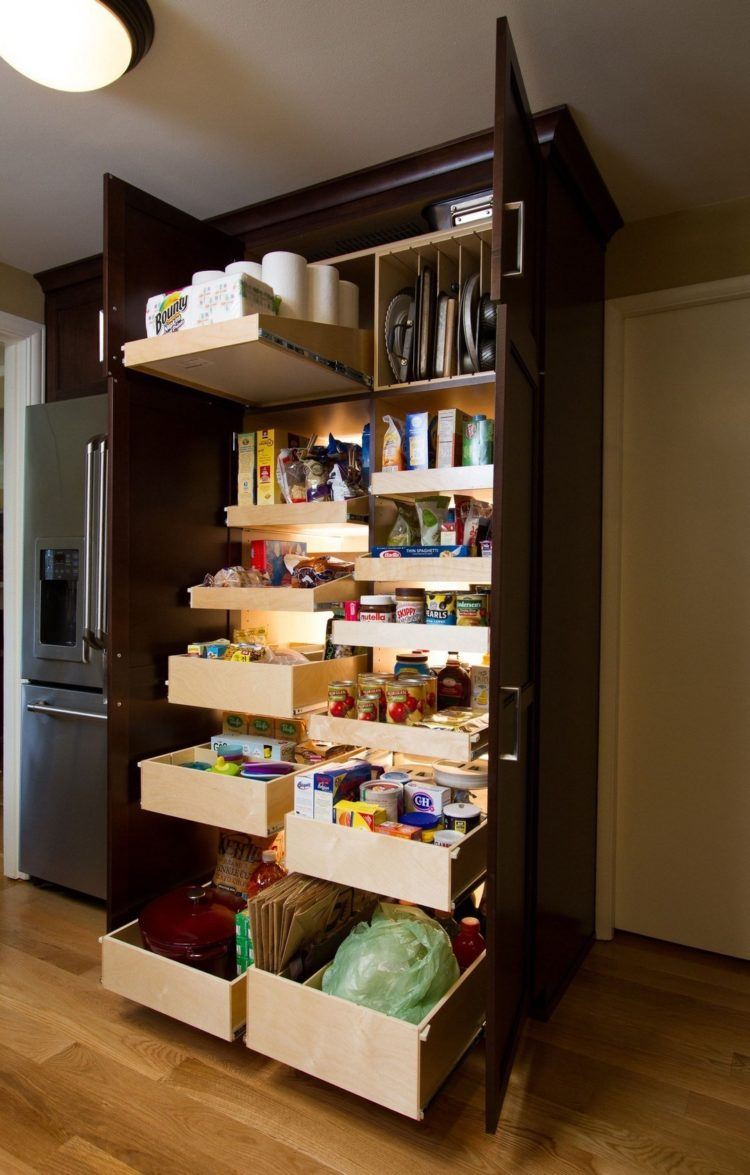 pantry cabinet installation