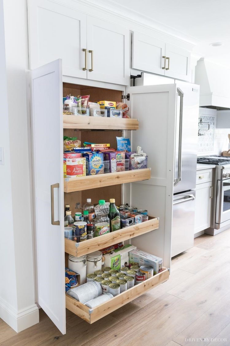pantry cabinet height