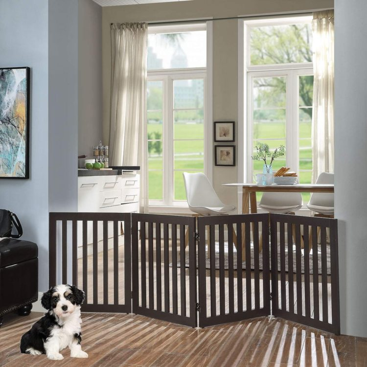 pet gate for large dogs